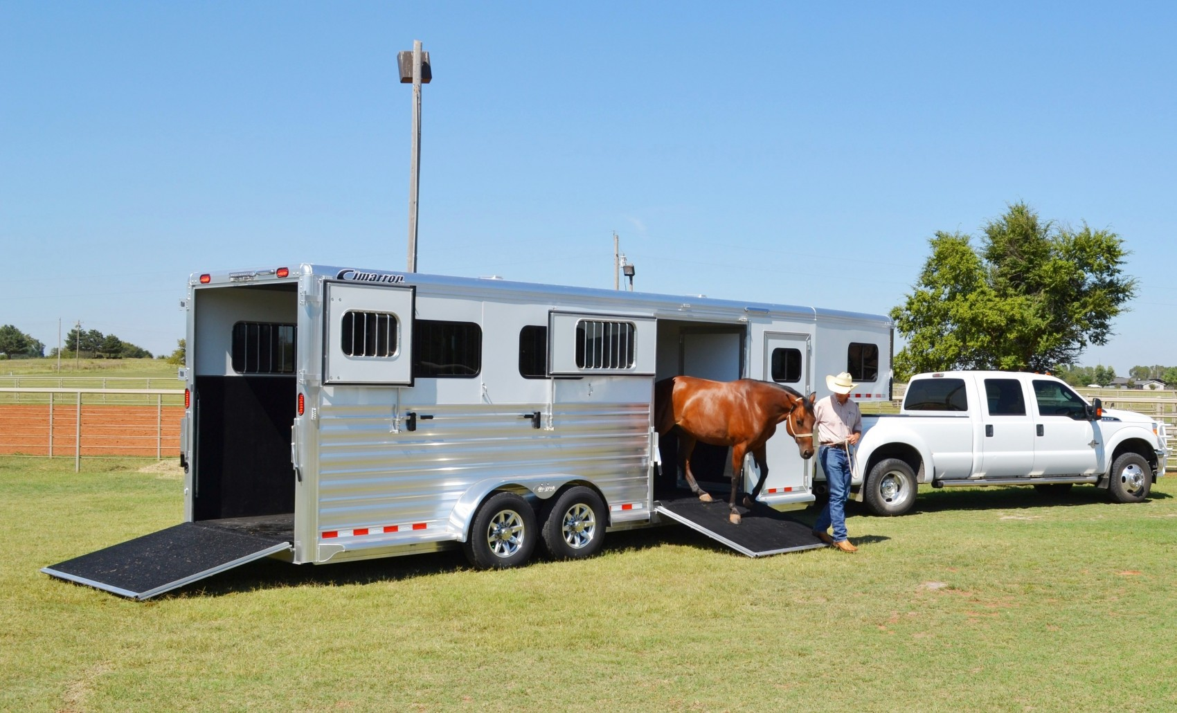 Loading and Hauling a Horse: Using a Transportation Company